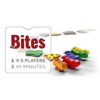 Bites - Board Game - 2 to 5 Players - 20 Minute Play Time