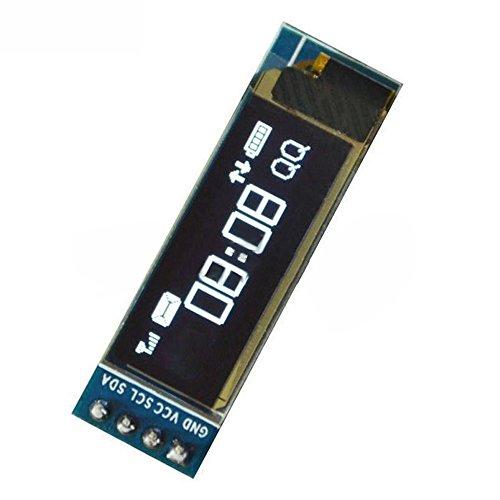 TOOGOO 0.91 inch IIC I2C SPI 128x32 White OLED LCD Display Module for Arduino PIC