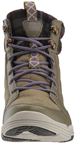 Ryka Womens Aurora Fashion Boot, Olive Wreath/Purple Haze/Ash, 12 M US