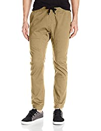 Men's Basic Stretch Twill Jogger Pants