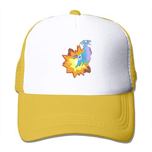 Battle Royale Fortnite Ka-Bllama Unisex Trucker Hats Adjustable Baseball Cap Mesh Cap
