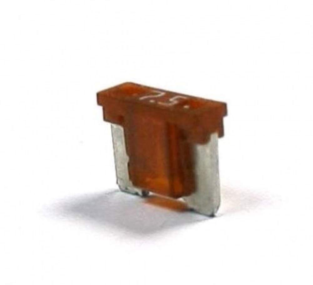 Micro Blade Fuse ATM Low Profile Fuse 7.5 Amp Fast-Acting Automotive fuses Pack of 50