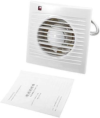 Extractor de baño de ventilador, montado en la pared Ventilador ...
