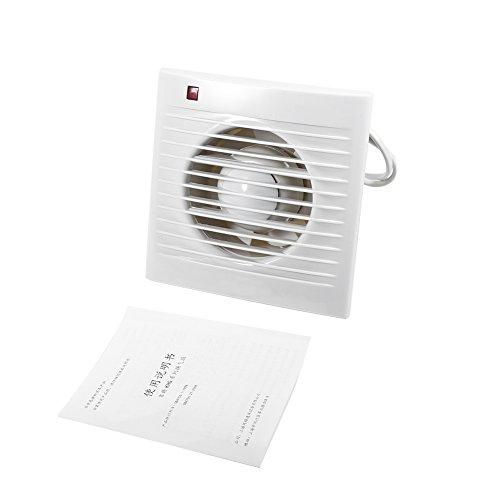 Exhaust Fan Bathroom, Wall Mounted Ventilating Exhaust Extractor Fan For Bathroom Toilet Kitchen Window 220V 4