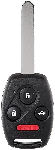 SCITOO Keyless Entry Option Replacement for 4 Buttons 2004-2012 Honda Accord CR-V 1PC FCC 850G-G8D380HA