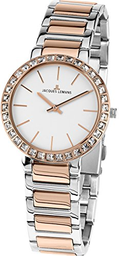 Jacques Lemans MILANO 1-1843.1B Wristwatch for women Classic & Simple