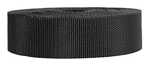Strapworks Heavyweight Polypropylene Webbing - Heavy Duty Poly Strapping for Outdoor DIY Gear Repair, 1.5 Inch x 10 Yards, - Heavyweight Material