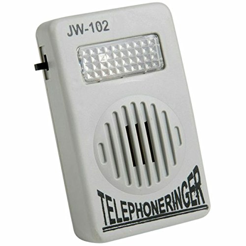 Evelots 2246  Very Loud Telephone Ring Volume Enhancer Sound Amplifier Flashing Light