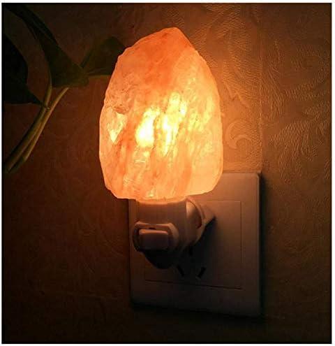 Luz de noche Lámpara de sal del Himalaya Purificador de aire ...