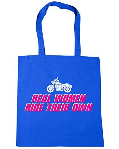Bolsa Algodón Hippowarehouse Mujer Playa De Azul Aciano q60Fdwf