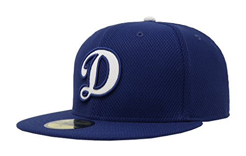 MLB Los Angeles Dodgers Men's 2016 Home Diamond Era 59FIFTY Fitted Cap, 7 3/8, Royal