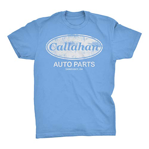 (Callahan Auto Parts - Tommy Boy Distressed Vintage Style T-Shirt - Carolina-Lg )