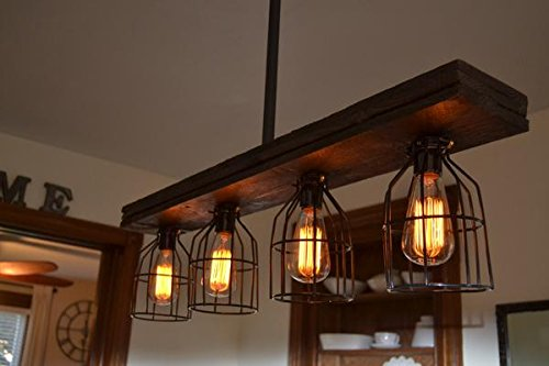 Barn wood Light (W/Cages)