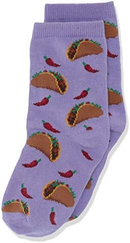 Hot Sox ladies Food Novelty Casual Crew Socks