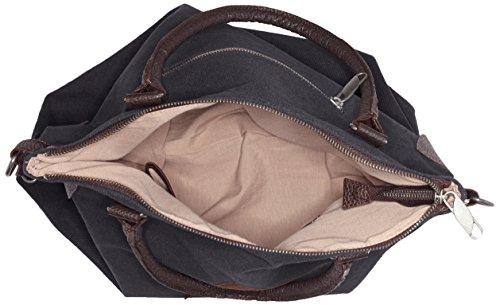 Schwarz Sac schwarz Bags4less Bandoulière F3151 canvas qpPwAF