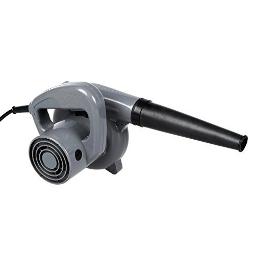 Cosway 500W Powerful Electric Handheld Dust Leaf Blower /Vacuum Cleaner for Shop Garage Garden, Vehicle Dryer (Grey) from Cosway