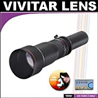 Vivitar 650-1300mm f/8-16 SERIES 1 Telephoto Zoom Lens For The Pentax K20D, K...