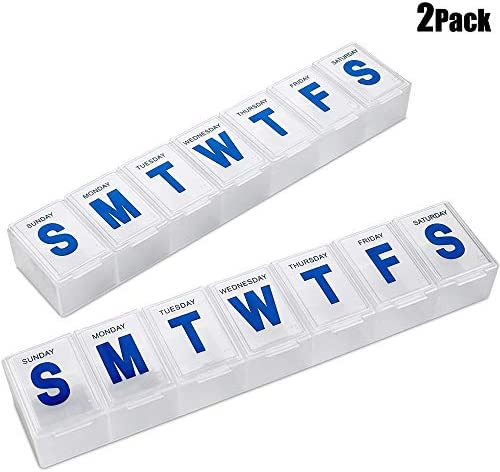 Weekly Pill Organizer Container Medication product image