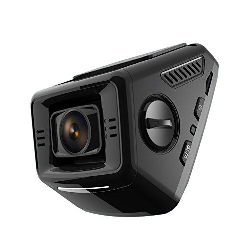 Pruveeo P3 2.4-Inch LCD FHD 1080P Dash Cam, 170 Degree