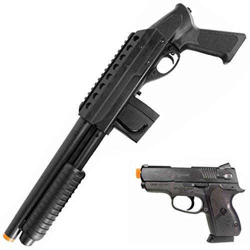 Smith & Wesson M3000 Pistol Grip Shotgun Kit with Airsoft Pistol