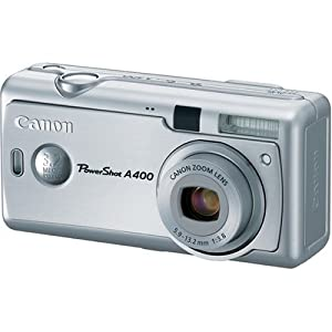 Canon PowerShot A400 3.2MP Digital Camera with 2.2x Optical Zoom (Silver)