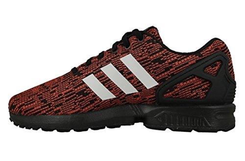 adidas Zx Flux, Zapatillas de Deporte para Hombre, Negro (Negbas / Ftwbla / Cosfut), 42 EU
