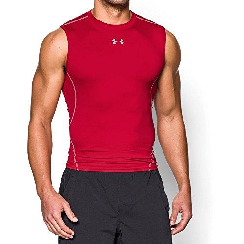Under Armour Men's HeatGear Armour Sleeveless Compression Shirt,