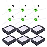 Neutop Filter Brush Replacement for iRobot Roomba e and i Series E5 5150 E6 6198 i7 7150 i7+ Plus 7550 Robot Vacuums,12-Pack.