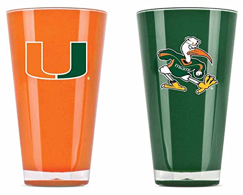 Duck House 9413101687 20 oz. Miami Hurricanes Tumbler