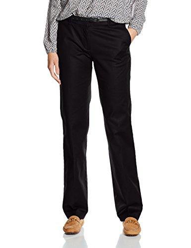 ESPRIT 996EE1B915, Pantalon Femme,  Noir (BLACK 001)-FR: W44 / L30-(Taille fabricant :W42/L30)