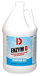Big D 1510 Enzym D Digester Deodorant, Mountain Air Fragrance, 1 Gallon (Pack of 4)