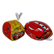Disney Pixar CARS Softee Sports Balls - Safe and fun vinyl soft balls inspired by Lightning McQueen (set of 2 pcs)