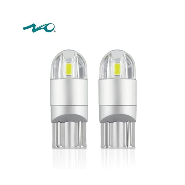 NAO 194 LED Light Bulb, T10 LED Bulb Light,Interior Lights 5SMD 3030 For License Plate Parking Turn Signal Corner Side Marker Tail And Backup Lights(2PCS,Blue)