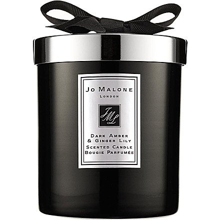 Dark Amber & Ginger Lily Home Candle 200g