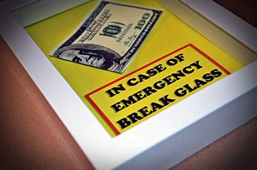 DIY In Case of Emergency Break Glass - EMPTY BOX with - Glass Emergency Break