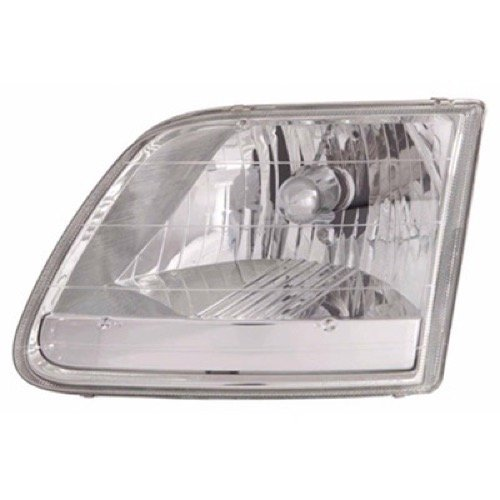 Go Parts » Compatible 1996 2004 Ford F 150 Front Headlight Headlamp Assembly Front Housing Lens Cover Right Passenger Side Lariat Stx Xl Xlt 3l3z 13008 Ga Fo2503211 Replacement For