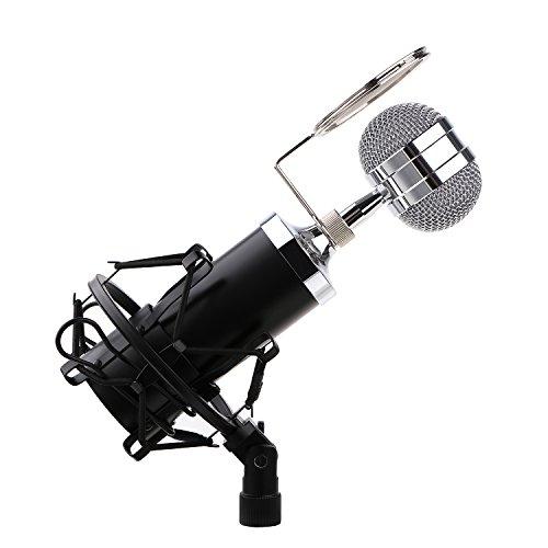 Condenser Microphone Recording Broadcasting Computer