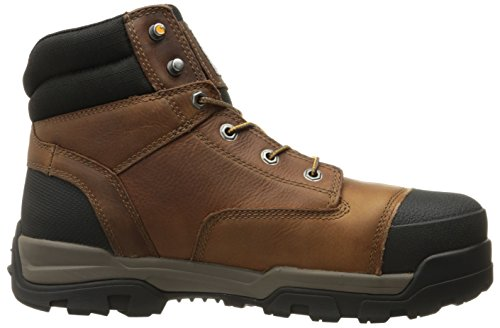 Carhartt Mens 6 Energy Waterproof Composite Teen Cme6355 Industrial Boot Peanut Oil Tan Leather