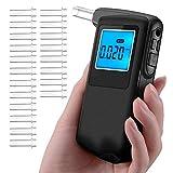 2018 Professional Alcohol Tester Breathalyzer Portable High-Precision Digital Breath Analyzer with Testing Result Recording