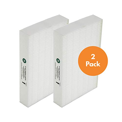 True HEPA Replacement Filter Compatible with Honeywell HEPA R Filter (HRF-R2) for HPA090, HPA100, HPA200, HPA250 and HPA300 Series Air Purifiers (2 Pack)
