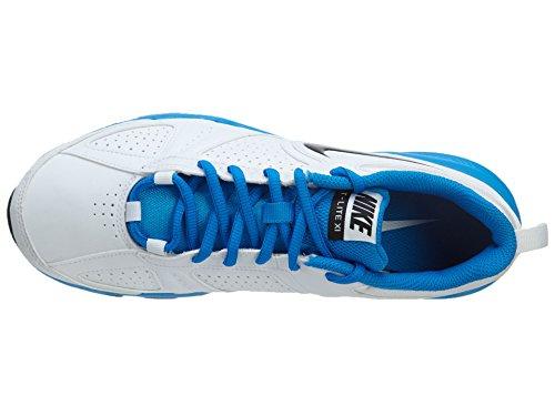Nike T-lite Xi Sl Mens Scarpe Da Corsa Bianco / Nero-blu Fotografico