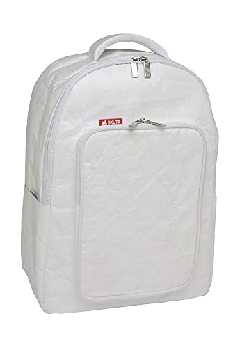 "Skutr SKUTR Tyvek Backpack + Tablet Bag, White (11 x 7.75"" Tablet Pocket)"