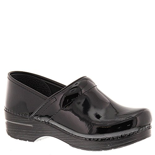Dansko Professional Narrow Clog,Black Patent,36 EU/6 N US -