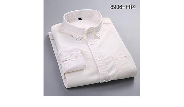 CSDM Camisa de Hombre Camisa de los Hombres Pana de Manga ...