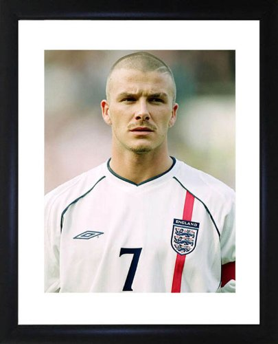 David Beckham Framed Photo by Picture Favourites