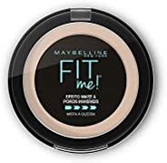 Pó Compacto Maybelline Fit Me! B01 Super Claro Bege