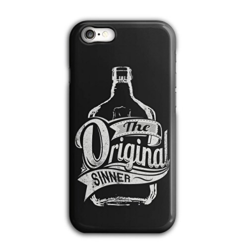 Vodka Bottle Design (Original Sinner Funny Rum Drunk iPhone 7 Case | Wellcoda)