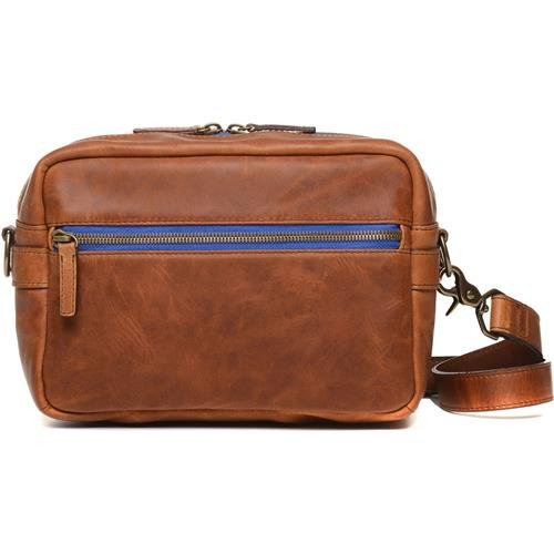 ONA - The Crosby - Camera Shoulder Bag - Antique Cognac Leather (ONA5-067LBR) by Ona
