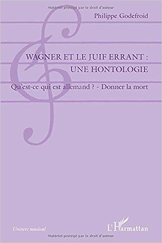Ebooks téléchargeables gratuitement en pdf Wagner et le Juif Errant : une hontologie in French PDF