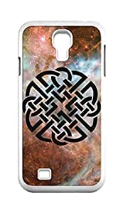 Cool Painting Celtic Knot pattern Snap-on Hard Back Case Cover Shell for Samsung GALAXY S4 I9500 I9502 I9508 I959 -1327